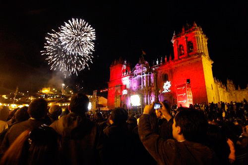 New Year in Cusco